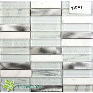 Washroom Color Mixed Crystal Mosaic (TG-OWD-924) pictures & photos