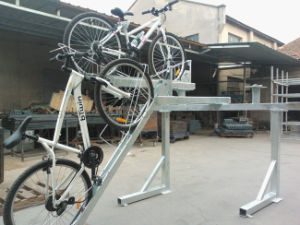 2016 Hot Selling Galvanized Double Deck Parking Bike Rack pictures & photos