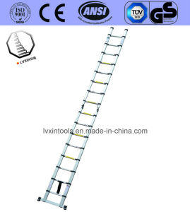 8 Steps Aluminium Extension Ladder with Two Side pictures & photos