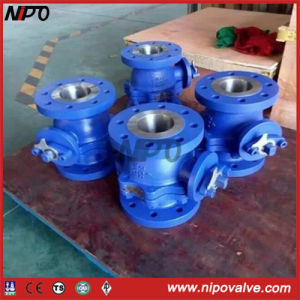 Floating Flanged RF End Stainless Steel Ball Valve pictures & photos