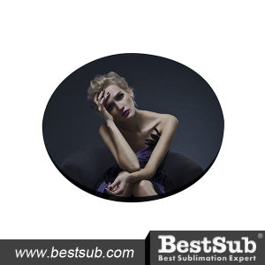 Bestsub Promotional 5mm Round Sublimation Mug Coaster (SB68-5Y) pictures & photos