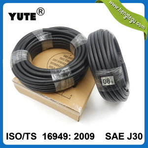Yute Smooth Surface Black 5/16 Inch Rubber Oil Hose pictures & photos