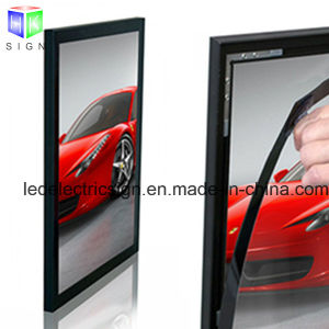 Aluminum Frame LED Advertising Magnetic Ultra-Thin Acrylic Light Boxes pictures & photos