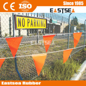 Cheap Traffic Bunting Line Traffic Orange Warning Flag pictures & photos