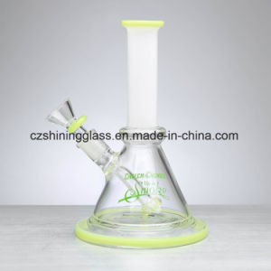 Honeycomb Recycler Small Simple Beaker Glass Water Pipe pictures & photos