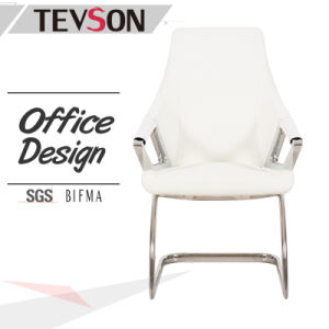 Latest Simple Leather Office Meeting Boardroom Conference Guest Chair pictures & photos