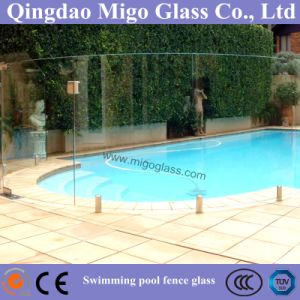 Flat or Curved Tempered Glass Railing for Swimming Pool Fence pictures & photos