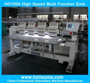 Best Quality 4 Head 15 Color Automatic Computer Hat Garment Embroidery Machine Happy Machine Ho1504 pictures & photos
