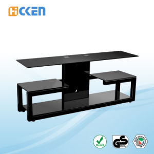 Cheap High Quality Glass LCD LED Modern TV Stand pictures & photos