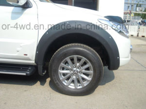 High Quality Wheel Fender Flares for Mitsubishi Pajero pictures & photos