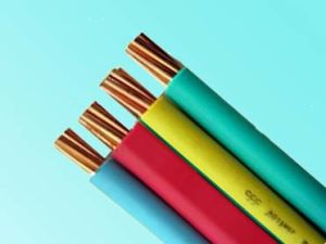 Copper Conductor PVC Insulated and Sheath Flat BVVB Electrical Wire 2X10mm2 pictures & photos
