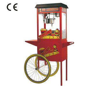 8 Oz Commercial High Quality Electric Popcorn Kettle Machine with Wheel Cart pictures & photos
