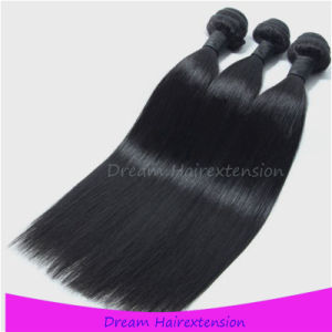 100% Peruvian Virgin Hair Bundles Full Cuticle Straight Hair Waving pictures & photos