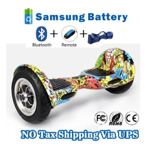 4.4ah Battery Hoverboard Smart Scooter Bluetooth Hoverboard Electric Skateboard