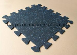 1mx1m Interlocking Rubber Tiles Fitness Equipment Rubber Carpet pictures & photos