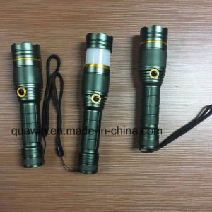 Promotion Flash Light Aluminum Flashlight pictures & photos