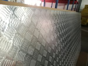 Non-Slip Aluminum Honeycomb Panels for Flooring pictures & photos