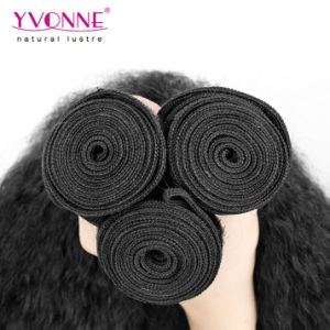 Kinky Straight Virgin Brazilian Human Hair Extension pictures & photos