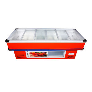 Highly Recommened Refrigerated and Frozen Seafood Freezer pictures & photos