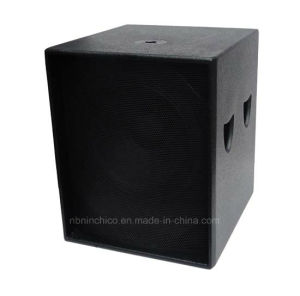 18 Inches Compact Vented Sub-Bass Speaker Box S18 pictures & photos