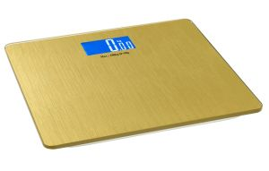 Large LCD Screen Golden Digital Weighing Scale pictures & photos