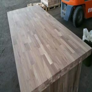 E0 Standard American Walnut Finger Jointed Board (Worktops/Benchtops) pictures & photos
