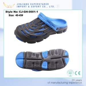 New Design Two Layer Men Summer EVA Clogs pictures & photos