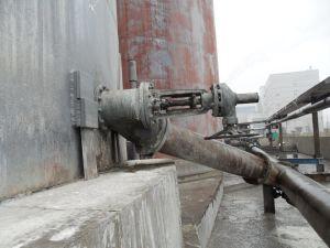 Pneumatic Flush Bottom Tank Valve pictures & photos