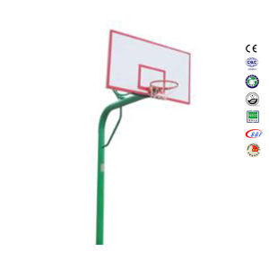 Wholesale in-Ground 10 Foot SMC Backboard Basketball Hoop on Backyard pictures & photos