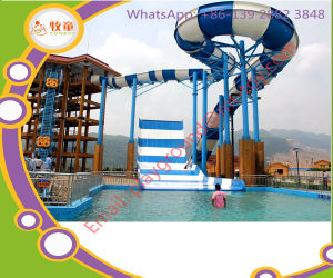 Customized Fiberglass Slide Water Play Equipment for Sale pictures & photos