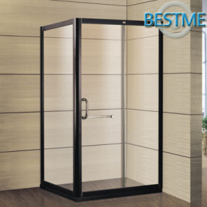 Black Color Stainless-Steel-Framed Shower Enclosure (BL-F3013) pictures & photos