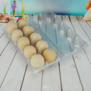PVC food packing container egg box (plastic tray) pictures & photos