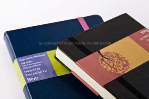 High Quality American Style Moleskine Notebook with Thread Stitching pictures & photos