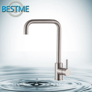 China Brass Chrome Kitchen Faucet Square-Style pictures & photos