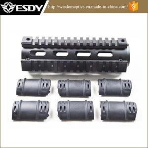 Esdy Ar15 M4 Rifle Carbine Length Weaver/Picatinny Quad Rail Handguard pictures & photos