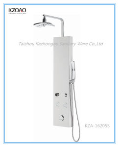 Kza-16205s Digital Smart Thermostatic Stainless Steel Shower Panel pictures & photos