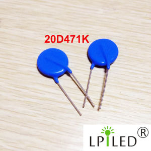 14D471k Varistor for AC LED pictures & photos