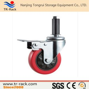 Steel Core Rubber Swivel Caster Wheel for Logistics pictures & photos