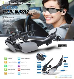 Fashion Smart Sports Glasses Sunglasses with Bluetooth Function pictures & photos
