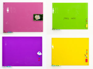 Office School Magnetic Glass Whiteboard Dry Erase Notice Boards pictures & photos