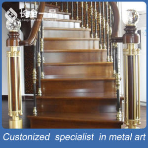 Customized Deluxe Indoor Stainless Steel Stairs Railing for Villa/ Hotel pictures & photos