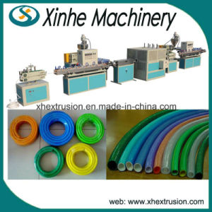 Single Wall PVC Garden Corrugated Pipe Production Plastic Extrusion Machine Making Line pictures & photos