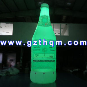 LED Color Luminescence Advertisement Simulation Model Inflatable Bottle pictures & photos