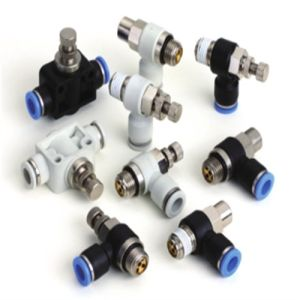 Slb Made in China Male Flow Speed Controller Fittings pictures & photos