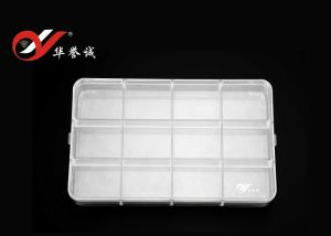 12 Grids Rectangle Jewelry Display Plastic Box with Round Coner pictures & photos