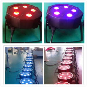 5PCS 5X10W RGBW 4in1 LEDs IP20 Disco Mega PAR Light pictures & photos