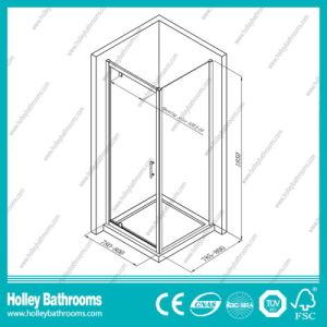 High Class Aluminium Hinge Patio Door with Tempered Laminated Glass (SE918C) pictures & photos