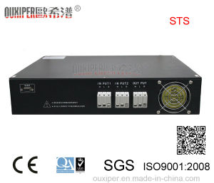 Ouxiper Static Transfer Switch for Power Supply (220VAC 25AMP 5.5KW 1P Single phase) pictures & photos