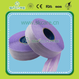 Purple Frontal Mini Tapes for Baby Diaper pictures & photos