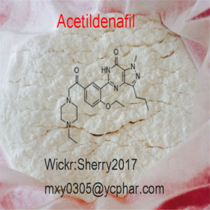 99% Steroid Acetildenafil Powder Powerful Erectile Dysfunction Treatment Drug 831217-01-7 pictures & photos